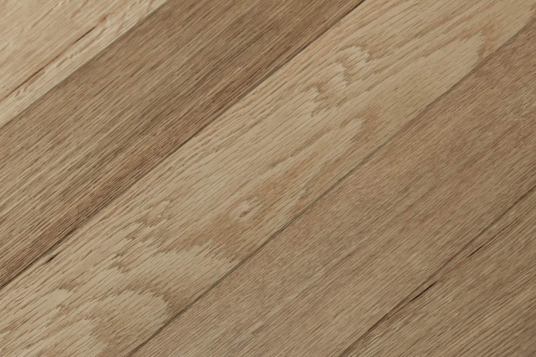 Herringbone French Oak Heart